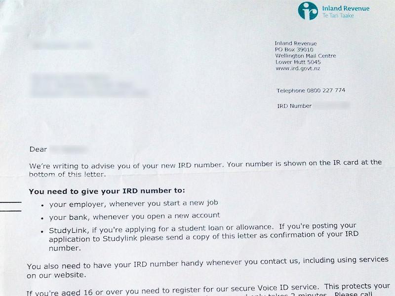 In Neuseeland eine Steuernummer beantragen