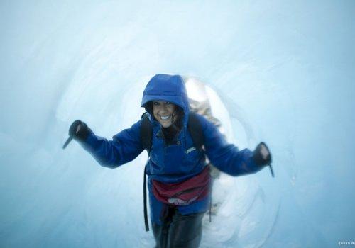 Halbtageswanderung auf dem Franz Josef Gletscher
